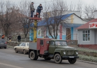 Автоподъёмник ТВГ-15Н #АВ 8735 АВ на шасси ГАЗ-52-04. Винницкая область, г. Хмельник, просп. Свободы
