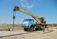 Кран КС-3577 на шасси МАЗ-5334 #АК 0319 СМ. Крым, Керчь, вахтовый поселок строителей Керченского моста