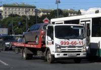Эвакуатор на шасси Isuzu NP #О 006 ЕХ 47. Санкт-Петербург, Московский проспект