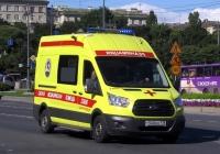 Скорая медицинская помощь на базе Ford Sollers A-BF #Т 540 ЕЕ 178. Санкт-Петербург, Московский проспект