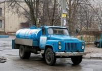 Автоцистерна для перевозки пищевых жидкостей на шасси ГАЗ-53-12  #152-06 КХ. Киев, Голосеевская улица