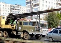Копровая установка КО-8 на шасси КрАЗ-257К1 #В 060 ВХ 57. Орёл, Карачевское шоссе