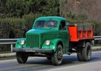 Самосвал ГАЗ-93А #23-69 КРЕ ялтинской дорожно-эксплуатационной службы. Крым, Ялта, Южнобережное шоссе