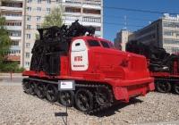 Быстроходная траншейная машина БТМ-3 на базе АТ-Т. Иваново, улица Шубиных