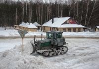 Бульдозер ДЗ-42Г на базе трактора ДТ-75*. Сумы, ул. Харьковская