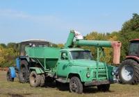 Автозагрузчик сеялок АС-2УМ на шасси ГАЗ-52-04 . Белгородская область, Новооскольский район, х. Фироновка