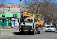 Кран КC-35715 на шасси на шасси МАЗ-5337 #Т 590 НН. Приднестровье, Тирасполь, улица Шевченко