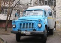 Электролаборатория на шасси ГАЗ-53А #ВЕ 9071 ВВ. Николаев, улица Колодезная