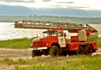 Автолестница пожарная АЛ-30(131)ПМ-506  #3588 Ч2. Николаев, улица Лазурная