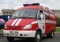 Аварийно-спасательный автомобиль АСА-М (ГАЗ)  #ВЕ 8719 АР. Николаев, улица Адмиральская