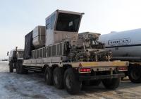 Насосно-цементировочная установка на базе полуприцепа ТСП-94163, #АН 8739 86. Ханты-Мансийский АО, Приобское месторождение
