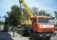 Кран КС-45717К на шасси КамАЗ-53215 #СН 9280 АН. Севастополь