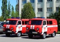 Автомобили штабные (АШ) на базе УАЗ-390995 # Н 919 НЕ 31 и # Н 921 НЕ 31. Белгород, Волчанская улица