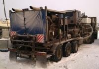 Насосно-цементировочная установка на базе полуприцепа, #АМ 5727 86. Ханты-Мансийский АО, Мало-Балыкское месторождение