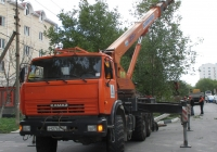 """Кран КС-55713-5К-3 """"Клинцы"""" на шасси КамАЗ-43118 #А 427 ВЕ 123 . Краснодарский край, Анапа"""