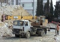 Кран КТА-16 на шасси МАЗ-5337 #СН 1344 АС. Севастополь