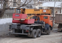 Кран КТА-18 на шасси КамАЗ-55111 #АН 3135 НР. Севастополь