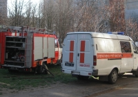 Автомобиль первой помощи АППД - 2 (3310) - 274 #3773 Ч2 на шасси ГАЗ-3310 и автомобиль штабной АШ-5 (ГАЗ) #3460 Ч2. Николаев, улица Колодезная