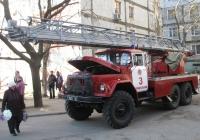 Автолестница пожарная АЛ-30(131)ПМ-506  #3582 Ч2. Николаев, улица Колодезная