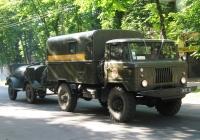 Оперативно-спасательная машина МЧС на базе ГАЗ-66-05   #3613 Ч2. Николаев, улица Большая Морская