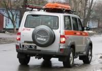 Аварийно спасательный автомобиль АСА (УАЗ) на базе УАЗ-3163 #3767 Ч2. Николаев, улица Сивашской Дивизии