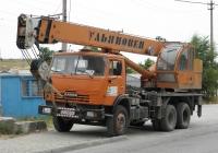 Кран МКТ-25 на шасси КамАЗ-55111 #СН 5985 АС. Севастополь