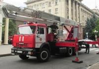 Автоподъёмник АПГП 30/20-300/206 на шасси КамАЗ-53215 #ВЕ 9294 ВК. Николаев, улица Лягина