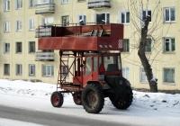 Подъёмник на базе самоходного шасси Т-16МГ  #0825 ХО 24. Красноярский край, Железногорск, Восточная улица