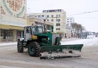 Трактор Т-150К с отвалом #822 ТА. Приднестровье, Тирасполь, Площадь Суворова