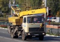Автокран СМК-14 на шасси МАЗ-5337 # М 814 ЕХ 30. Белгородская область, г. Старый Оскол, проспект Алексея Угарова