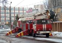 Коленчатый подъёмник Bronto Skylift F30-3 на шасси КамАЗ-53213 #1310 ИВМ. Иваново, улица Варенцовой