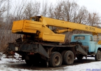 Автокран КС-3575А на шасси ЗиЛ-133ГЯ #9301 ОРП. Орёл