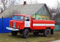 Автоцистерна АЦ-30(66)-184 на шасси ГАЗ-66-15 #К 721 ХВ 31. Белгородская область, Красногвардейский район, с. Уточка