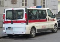 Служебный микроавтоус пожарной службы Renault Trafic Passenger #DW 644  LL. Львов, улица Театральная