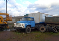 ЗиЛ-441510 с полуприцепом ОдАЗ-794. Башкортостан, Уфимский район, село Миловка