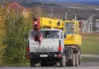 Автокран КС-4572 на шасси КамАЗ-53213 # К 013 АУ 31. Белгородская область, г. Алексеевка, Острогожский переулок