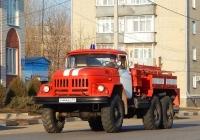 Пожарная цистерна на базе АРС-14, шасси ЗИЛ-131 #Р 444 ЕО 31. Белгородская область, г. Алексеевка, улица Маяковского