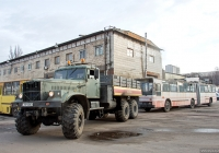 Автомобиль технической помощи КрАЗ-255Б1  #149-40 КА. Киев, переулок Радищева
