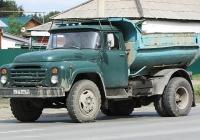 Самосвал ЗИЛ-ММЗ-555 на шасси ЗИЛ-130Д1 #К 378 НЕ 54. Новосибирск, улица Одоевского