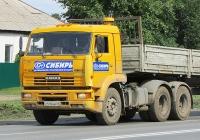 Седельный тягач КамАЗ-65116 #К 510 ММ 54. Новосибирск, улица Одоевского