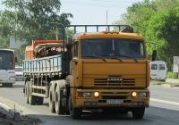 Седельный тягач КамАЗ-65116 #К 543 СН 22 с полуприцепом. Новосибирская область, Бердск, Вокзальная улица