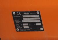 Заводская табличка экскаватора Doosan Solar 470LCV. Севастополь