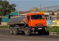 Автоцистерна для перевозки воды на шасси КамАЗ-43114. Красноярский край, Железногорск, Южная улица