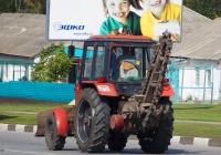 Цепной экскаватор на базе трактора  Беларус-82П  #0884 ЕР 31. Белгородская область, г. Алексеевка, улица Тимирязева