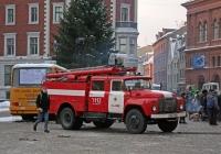 Пожарная автоцистерна АЦ-40(130)-63Б #BZ-7792. Рига, Домская площадь (Doma laukums)