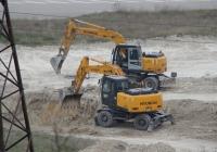 Экскаваторы Hyundai Robex 170W-7 #05713 АК и Hyundai Robex 140W-7. Севастополь