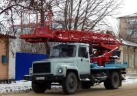 Автоподъёмник АП-17А-04  на шасси ГАЗ-3307* #М 772 РО 31. Белгородская область, г. Алексеевка, улица Победы