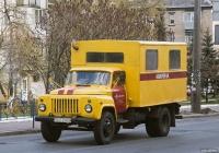 Аварийно-ремонтная мастерская на шасси ГАЗ-53-12 (шасси)  #017-33 КА. Киев, Вышгородская улица