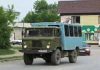 Вахтовый автобус ВМ-2001 на шасси ГАЗ-66-11 #М 815 СО 22. Алтайский край, Змеиногорск, улица Ленина