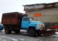 Самосвал ФАЗ-3508 с отвалом на шасси ГАЗ-53-14  #5684 БЕП. Белгородская область, Корочанский район, с. Бехтеевка